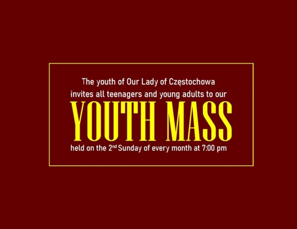 Youth Masses at our parish